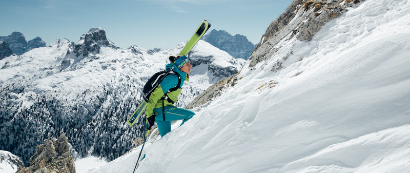 ee78dd8519 Speed Touring means fast ski ascents on top of the highest mountains ...